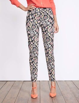 Black Arabesque Richmond Trousers