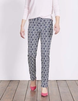 Navy Tile Heart Richmond Trousers