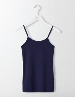 Navy Plain Cami
