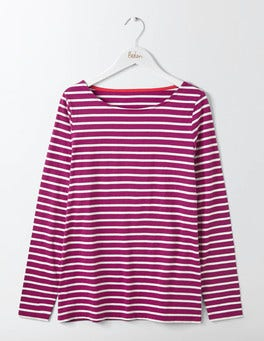 Fallen Fruit/Ivory Long Sleeve Breton