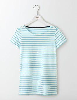 Ivory/Sail Short Sleeve Breton