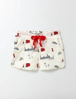 London Conversational Suzie PJ Shorts