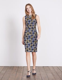 Navy Garland Martha Dress