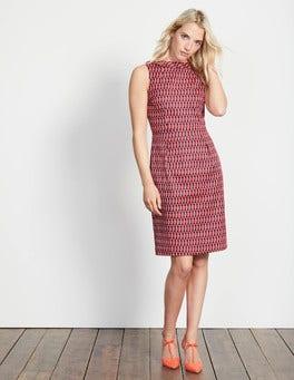 Melon Crush Crescent Geo Martha Dress