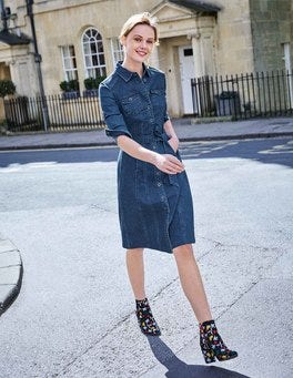Laura Denim Shirt Dress