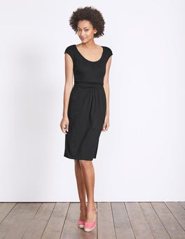 Black Margot Jersey Dress