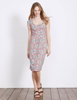 Pewter Paisley Margot Jersey Dress
