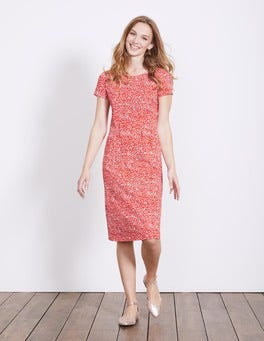 Snapdragon Mono Vine Phoebe Jersey Dress