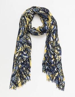 Mimosa Wisteria Printed Scarf