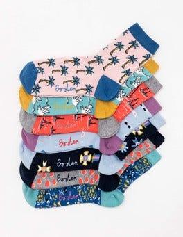 7 Pack Socks
