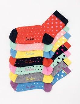 Spot 7 Pack Socks