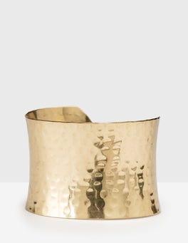 Gold Lyra Cuff