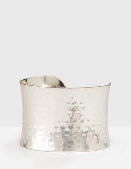 Silver Lyra Cuff