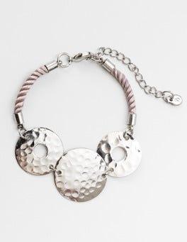 Silver Almeria Bracelet