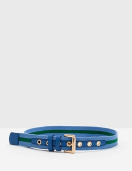Meadow Spring Webbing Belt