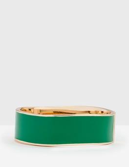 Rich Emerald Bangle