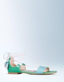 Oxygen/Chalky Green Sienna Sandal