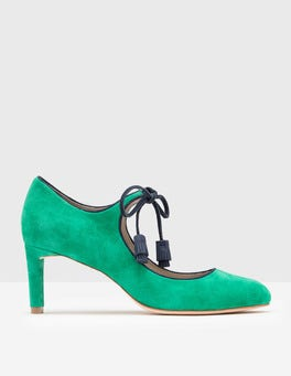 Meadow Green Lilli Mid Heel