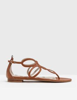 Tan Circle Sandal