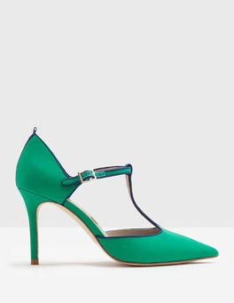 Meadow Green Angelica T-Bar Heel