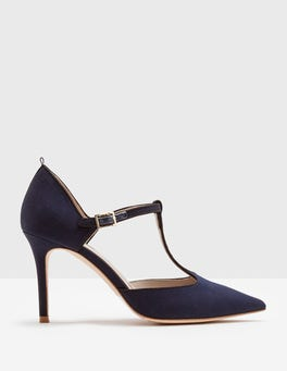 Navy Angelica T-Bar Heel