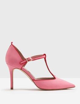 Pink Fizz Angelica T-Bar Heel