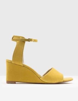 Mimosa Yellow Ruby Demi Wedge