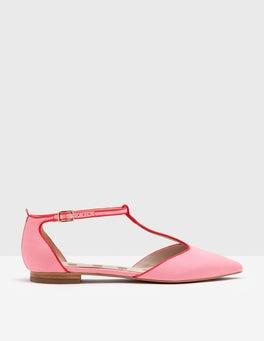 Pink Fizz Angelica T-Bar Flats