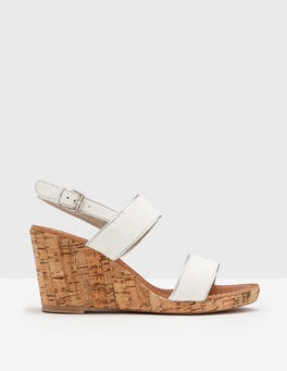 Ivory Louisa Wedge