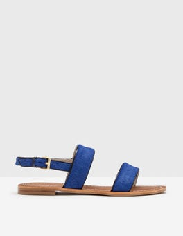 Santorini Blue Louisa Sandals