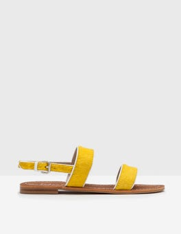 Mimosa Yellow Louisa Sandals