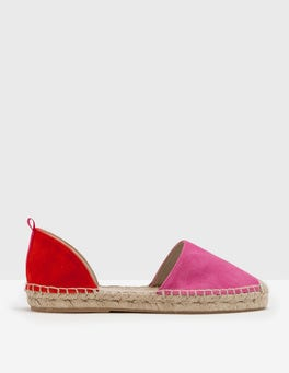 Mid Pink/Snapdragon Two Part Espadrille
