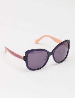 Navy/Thistle/Pale Pink Sunglasses