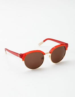 Dahlia Red Luz Sunglasses
