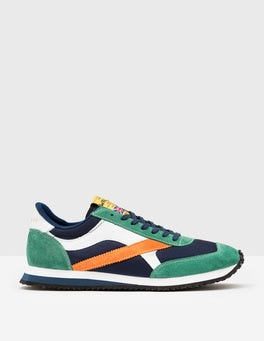 Navy/ Orange/ Emerald Walsh Tornado