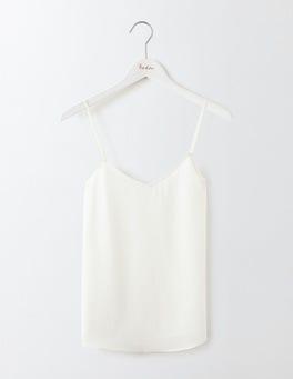 Ivory Silk Cami