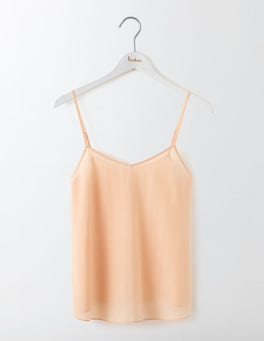Old Pink Silk Cami