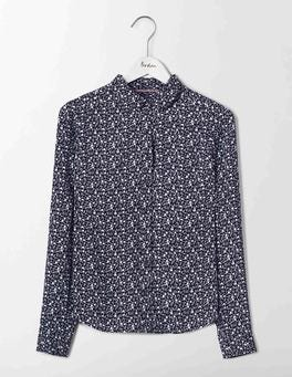 Navy Small Geo Bud Alma Shirt