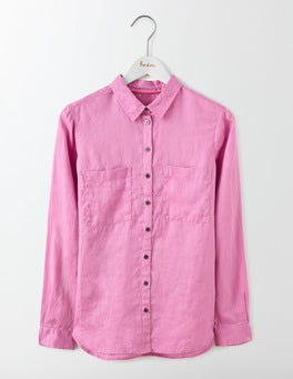 Lavender Rose The Linen Shirt