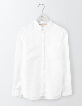 White The Linen Shirt