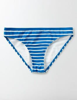 China Blue/Ivory Stripe Mix & Match Bikini Bottoms