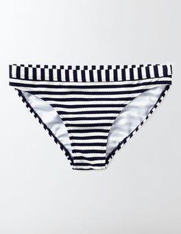 Navy/Ivory Stripe Rimini Stripe Bikini Bottoms