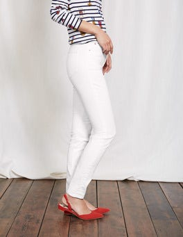 White Mayfair Modern Skinny Jeans