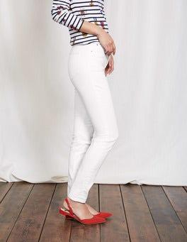 White Mayfair Modern Skinny Jeans