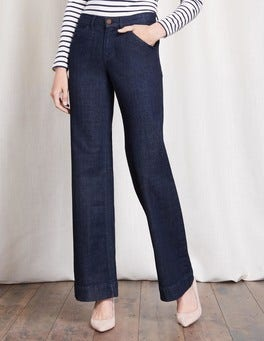 Indigo Windsor Wide Leg Jeans