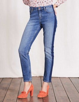 Side Stripe Cavendish Girlfriend Jeans
