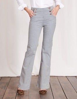 Ticking Stripe Southampton Sailor Jeans