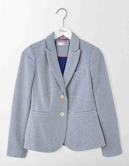 Imperial Blue Elizabeth Textured Blazer