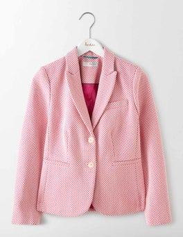 Pink Elizabeth Textured Blazer
