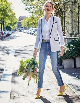 Ellen Cotton Blazer